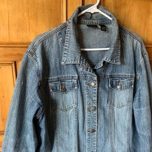 CHICOS jeans jacket